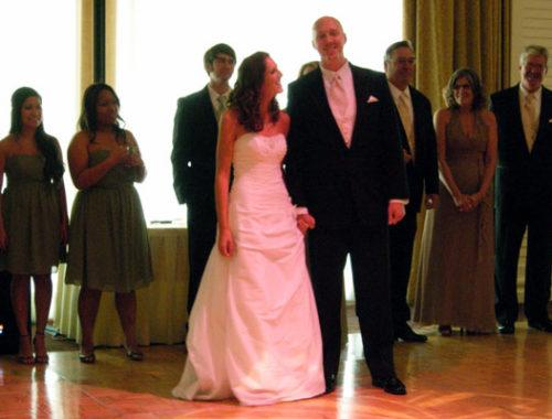 audra mike wedding