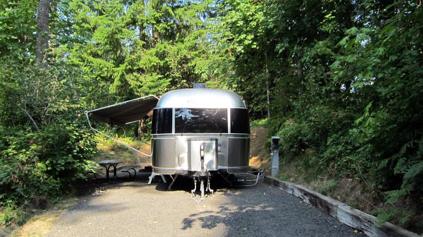 Timberlake Campground Aluminarium