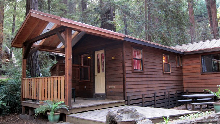 big sur campground and cabins aluminarium