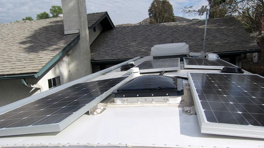Solar Airstream Aluminarium