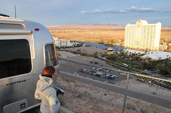 Casino camping aluminarium for Laughlin camping cabins