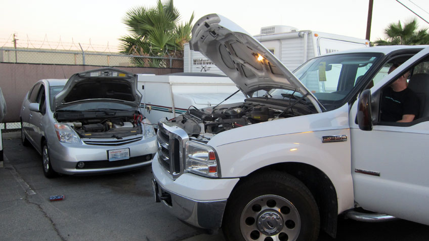 start a manual car with a dead battery