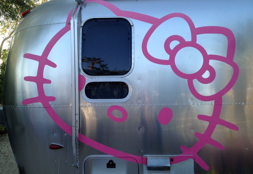 Hello Kitty Airstream