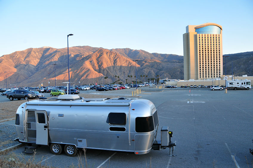 Fantasy springs casino rv camping