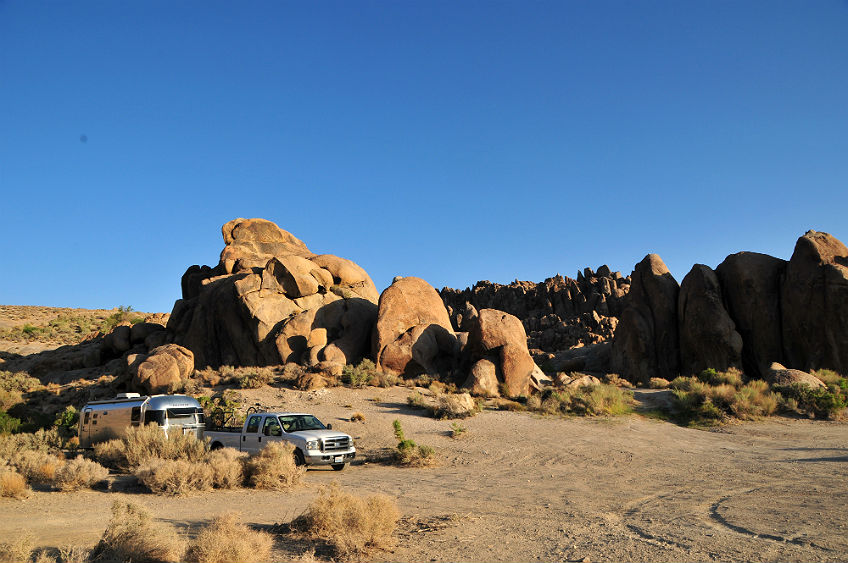 Alabama Hills Boondocking