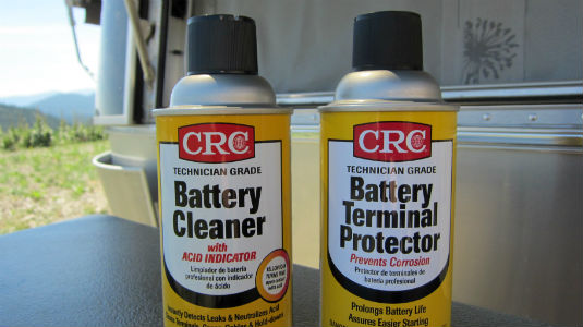 how to clean corrosion off battery terminals