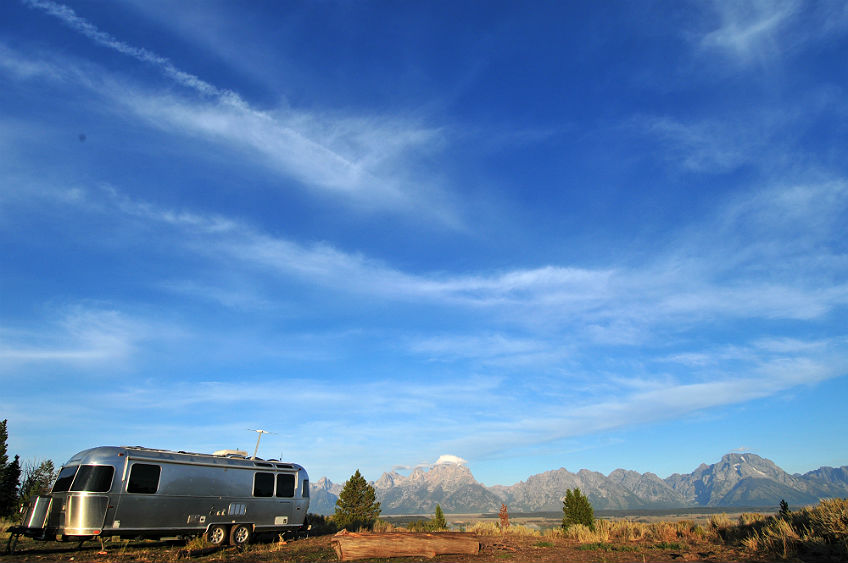 Grand Teton Boondocking