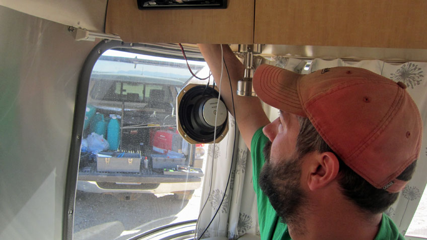 Airstream Lighting Upgrade