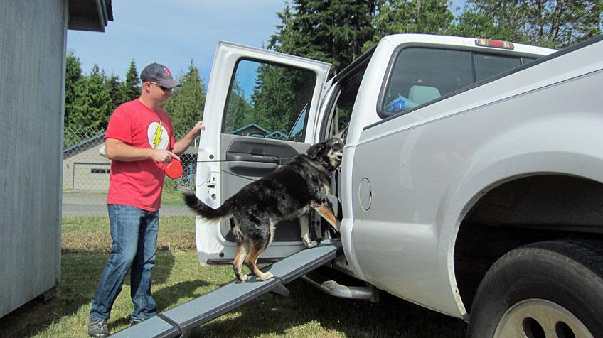 Dog Ramp For Truck >> Curtie S Dog Ramp Aluminarium
