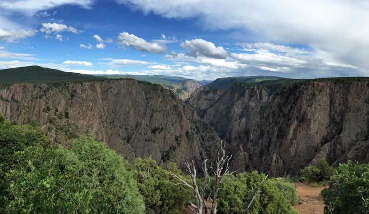 Black Canyon Of The Gunnison Aluminarium