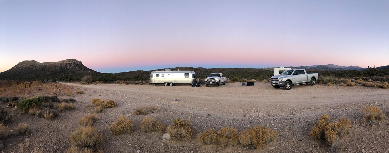 free camping near vegas