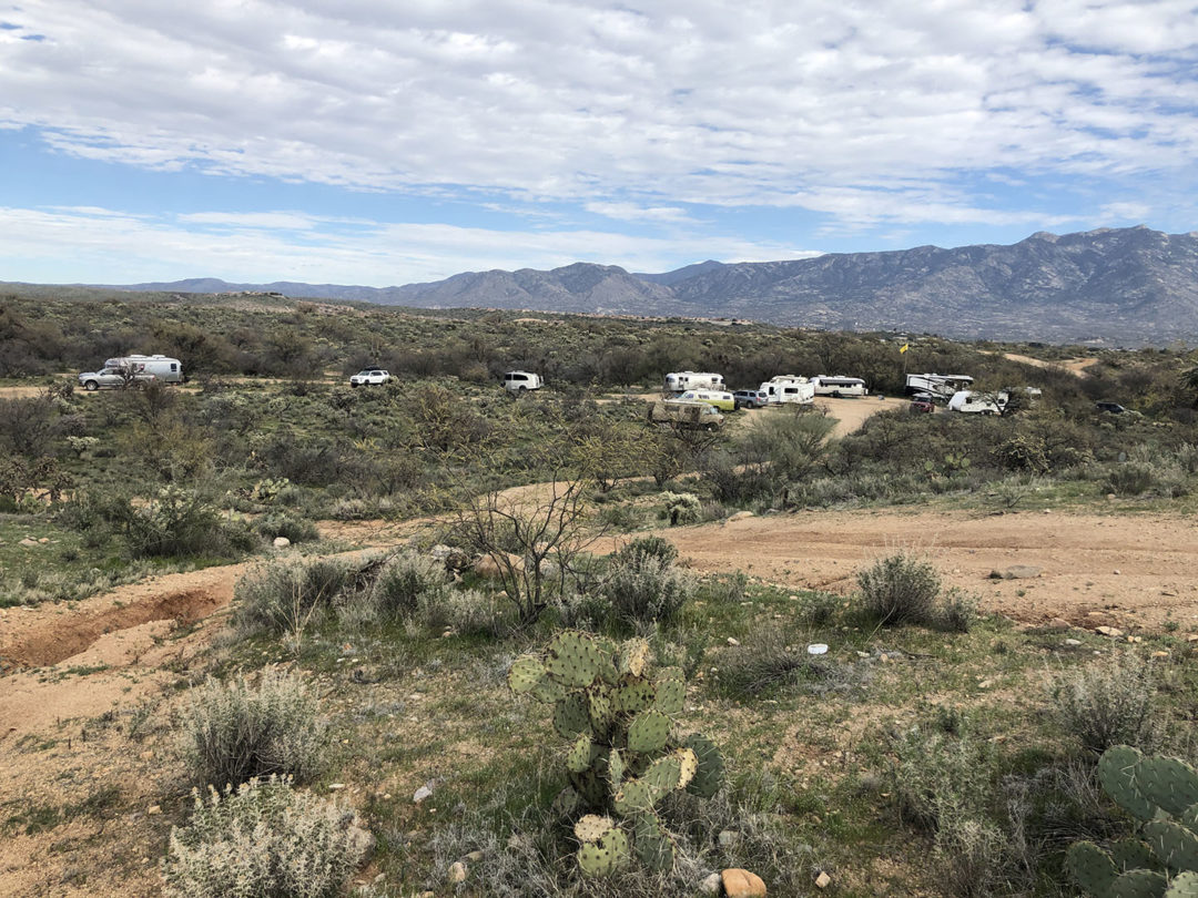boondocking near Tucson