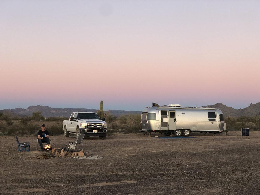 free camping in kofa quartzsite