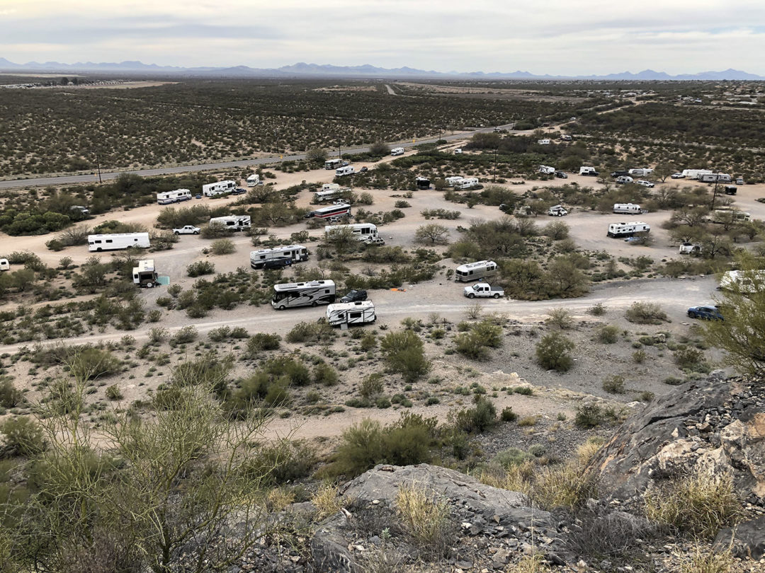 Snyder Hill free camping boondocking